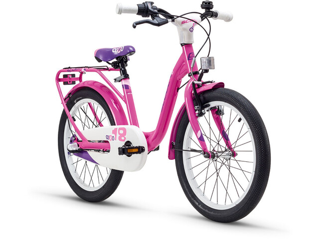 s'cool niXe 18 3-S Børnecykel alloy pink (2019) | City